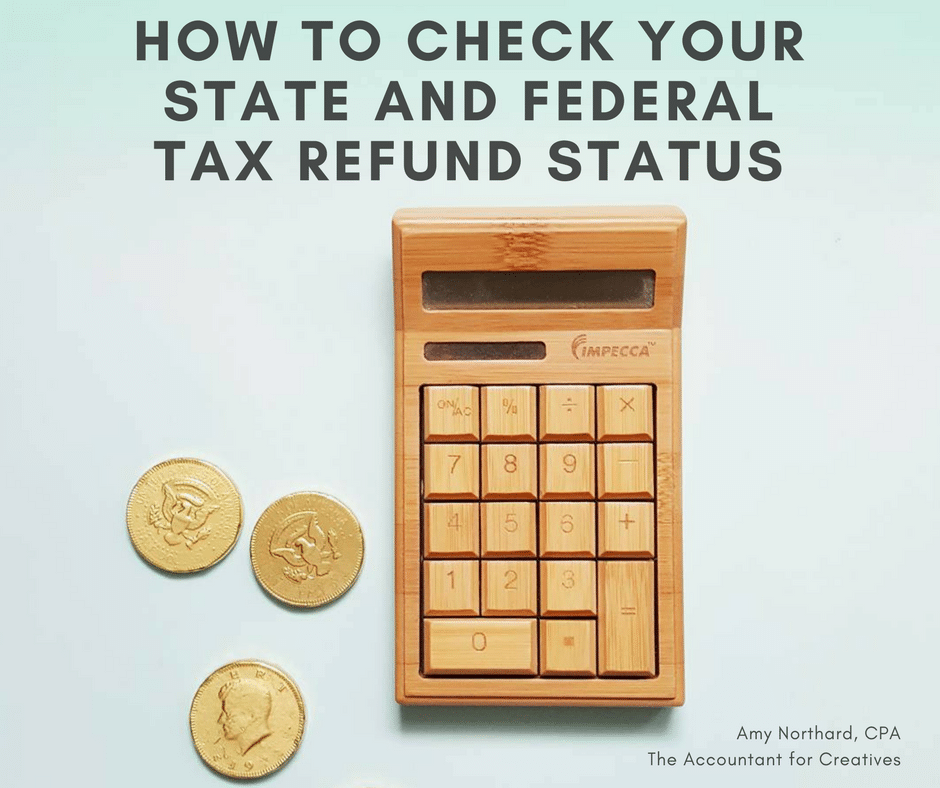 How to check your state and federal tax refund status.