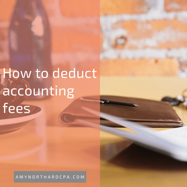 deducting tax prep fees