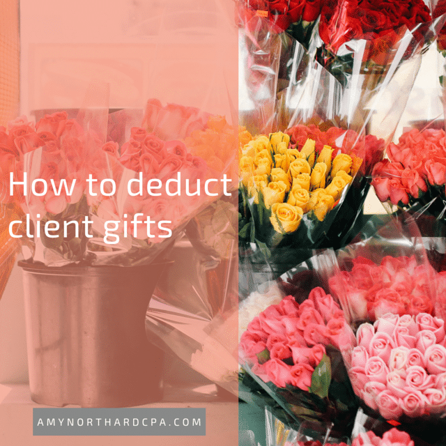 are client gifts deductible