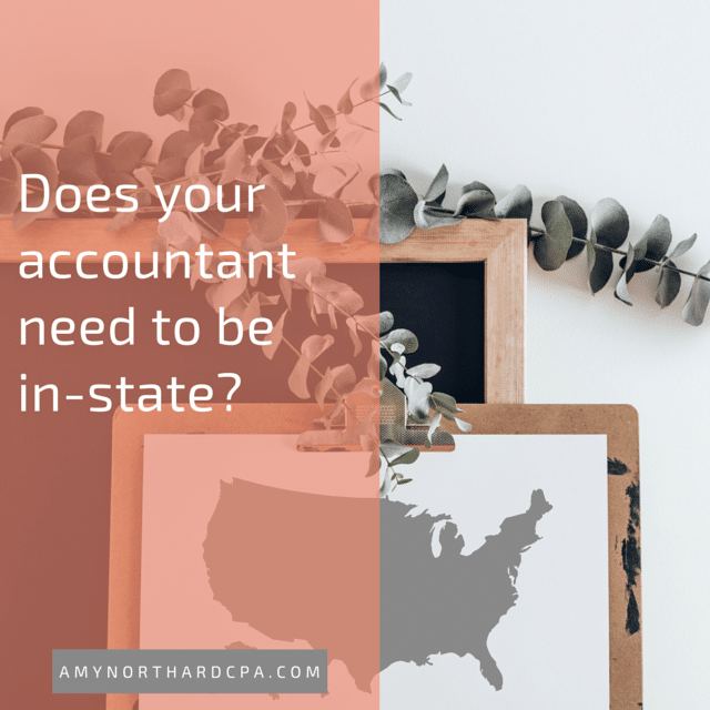 does my accountant need to be in the same state?