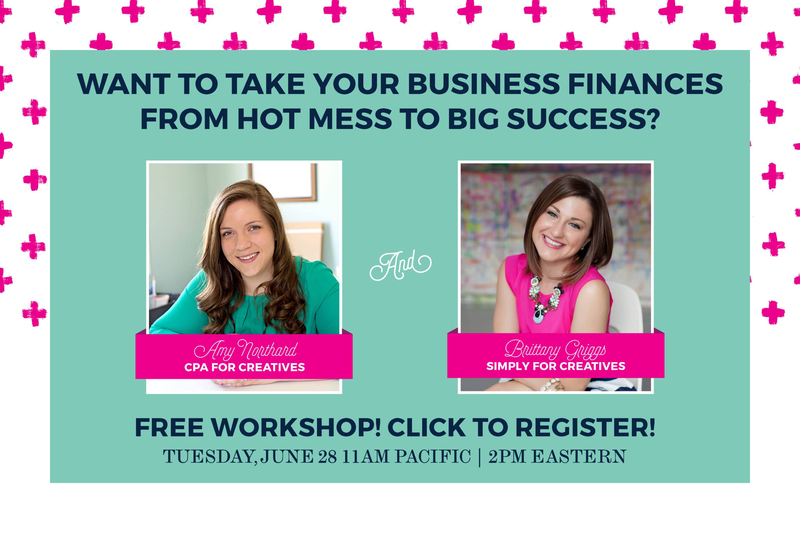 Free Workshop with Amy Northard and Brittany Griggs