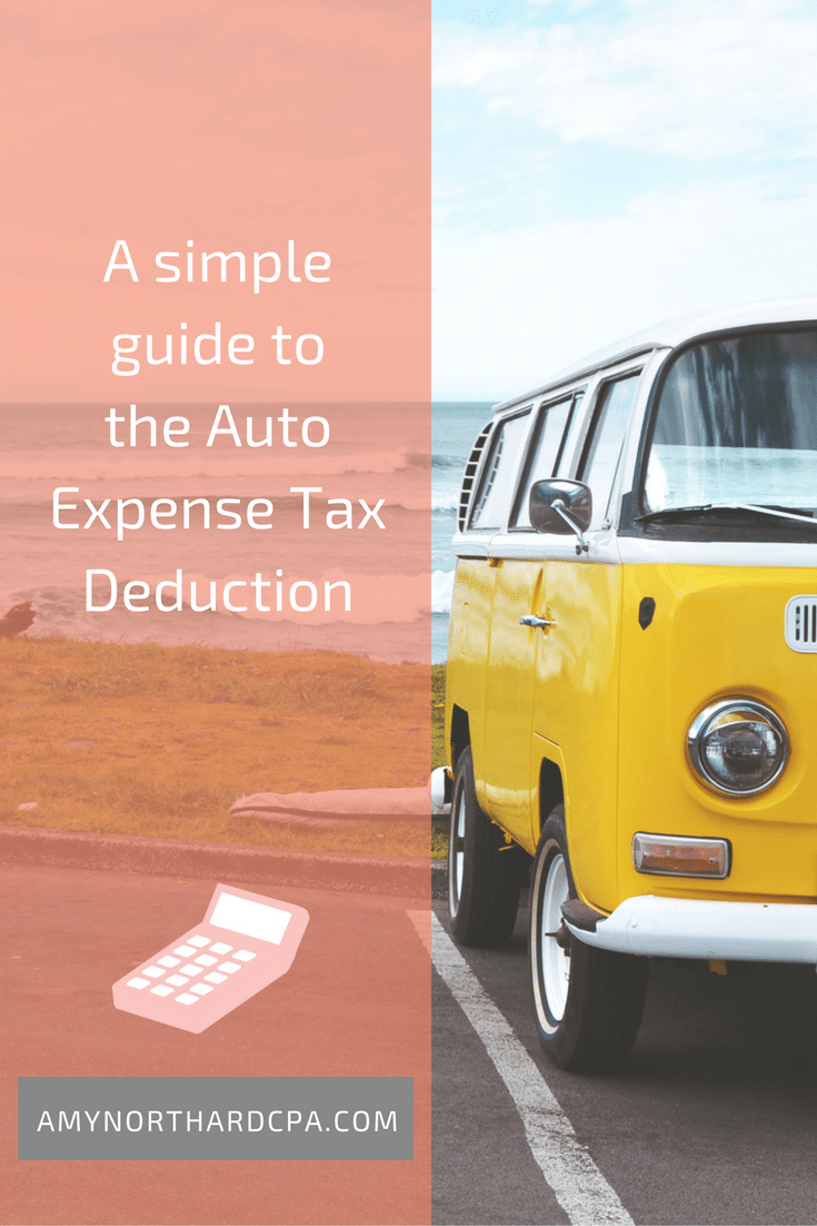 A simple guide to the Auto Expense Tax Deduction