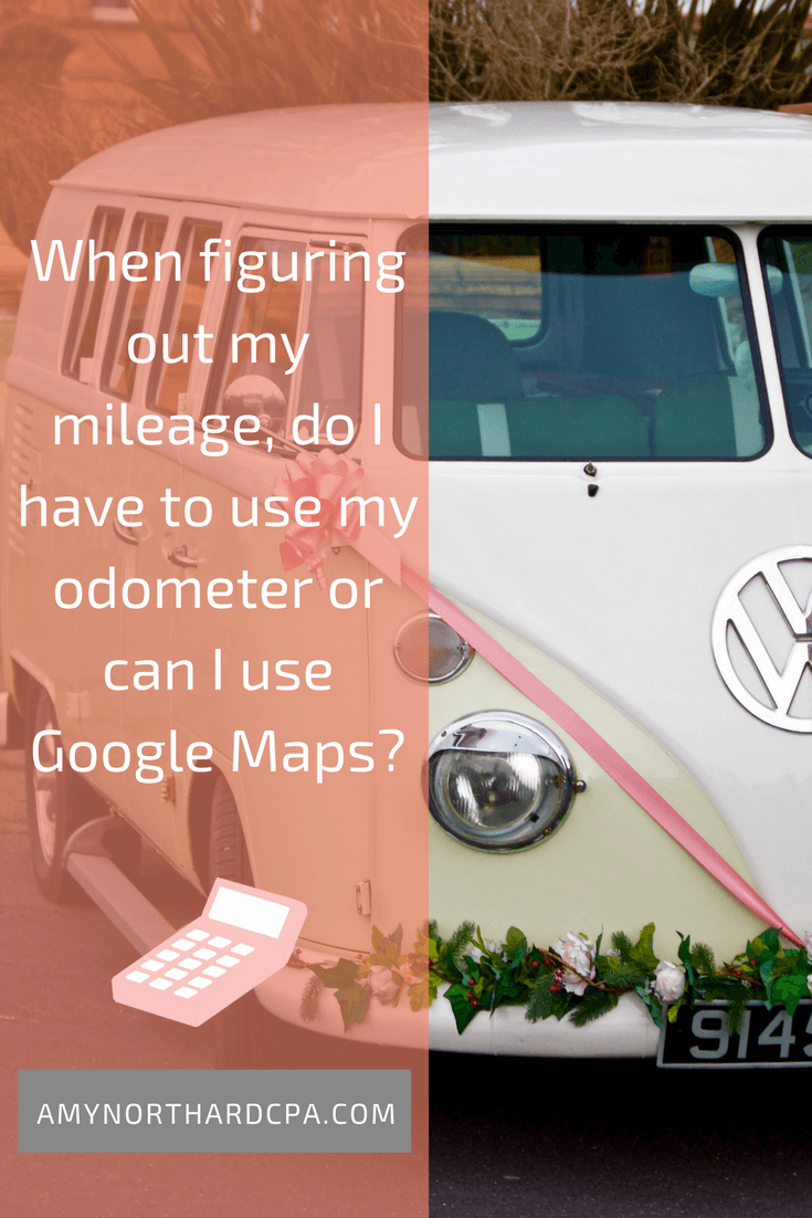 When Figuring Out My Mileage Do I Have To Use My Odometer Or Can I