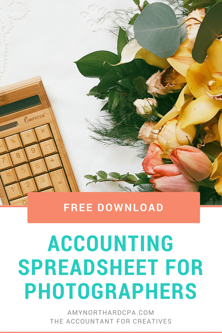 Free Accounting Spreadsheet for Photographers