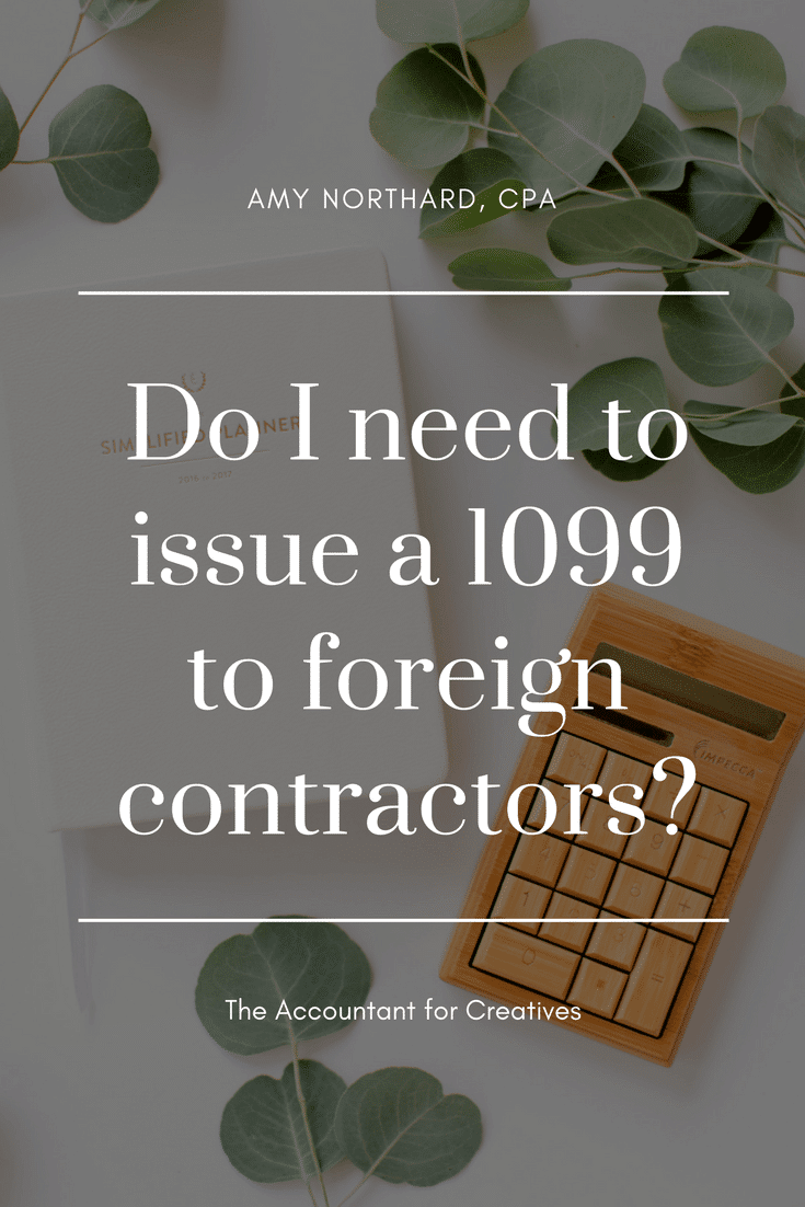 Do i have to prepare a 1099 misc for a foreign contractor amy do i need to issue a 1099 misc to foreign contractors falaconquin