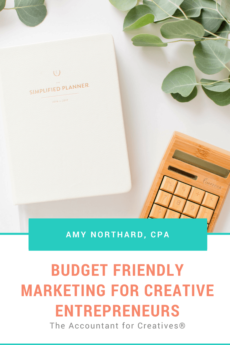 Budget friendly marketing for creative entrepreneurs