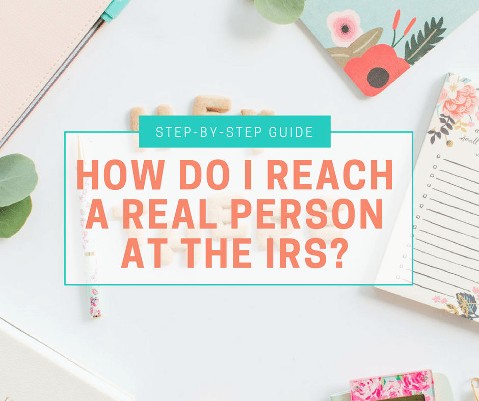 How Do I Reach A Real Person At The Irs Amy Northard Cpa The Accountant For Creatives
